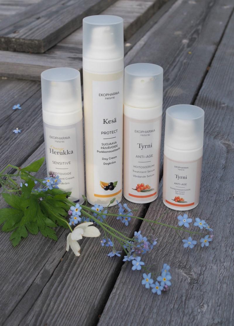 luomu ihonhoitotuotteet