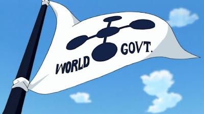 Arti Lambang pada bendera world goverment
