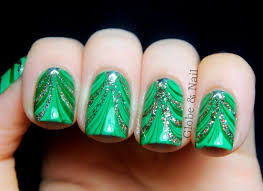 Nail Art tree trim