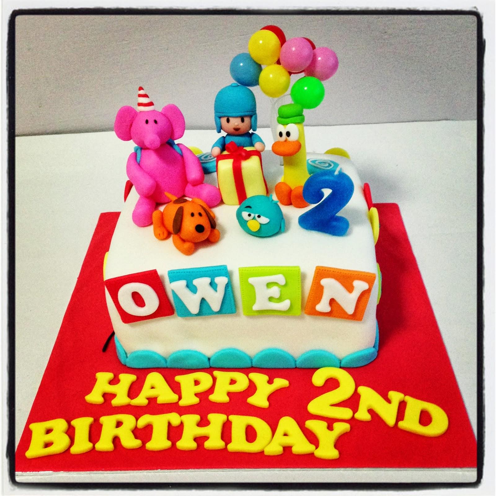 Oven Creations: Happy 2nd Birthday Owen