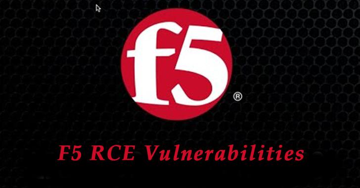 F5 RCE Vulnerabilities