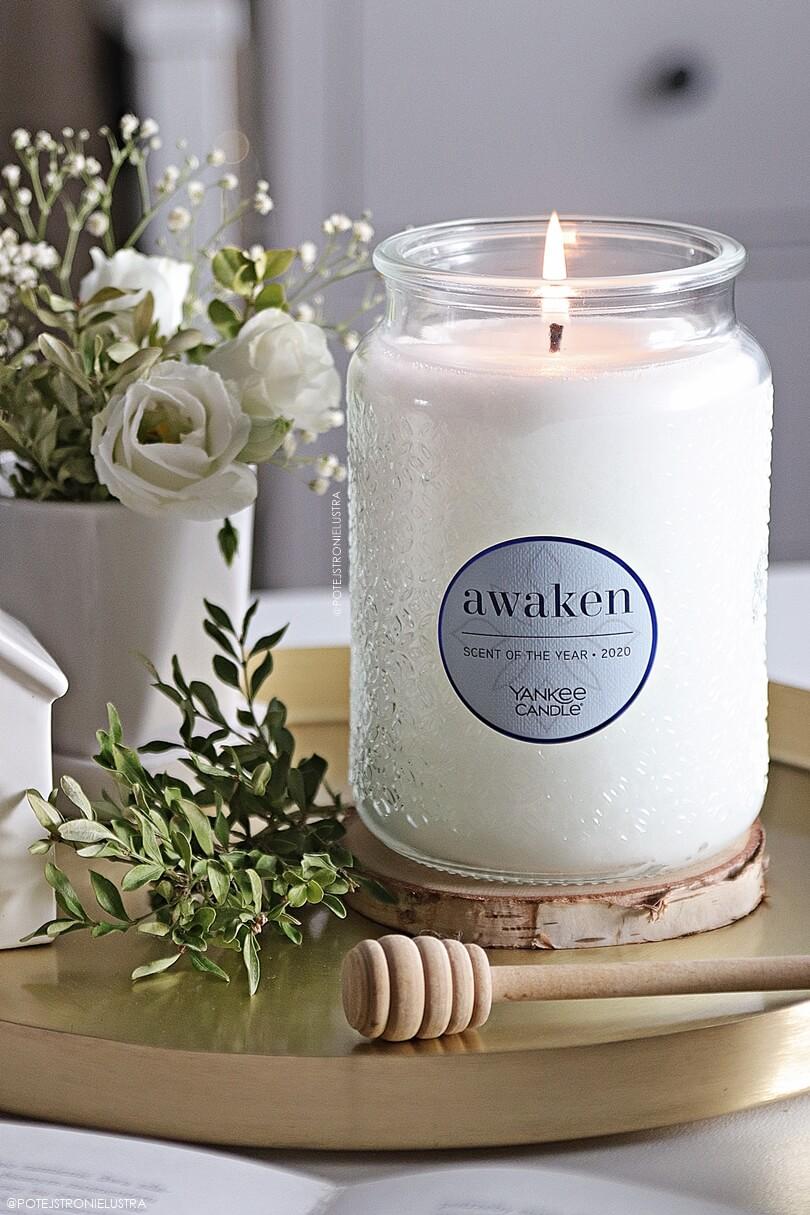 świeca zapachowa yankee candle awaken zapach roku 2020