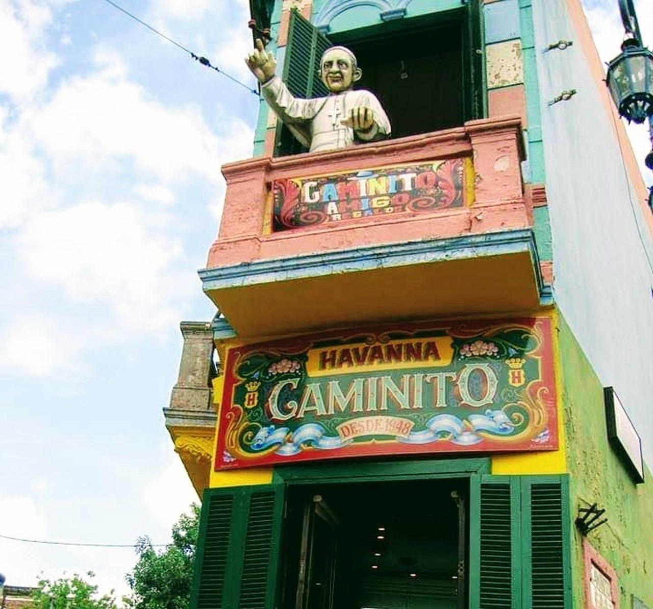 La Boca - o colorido bairro Buenos Aires