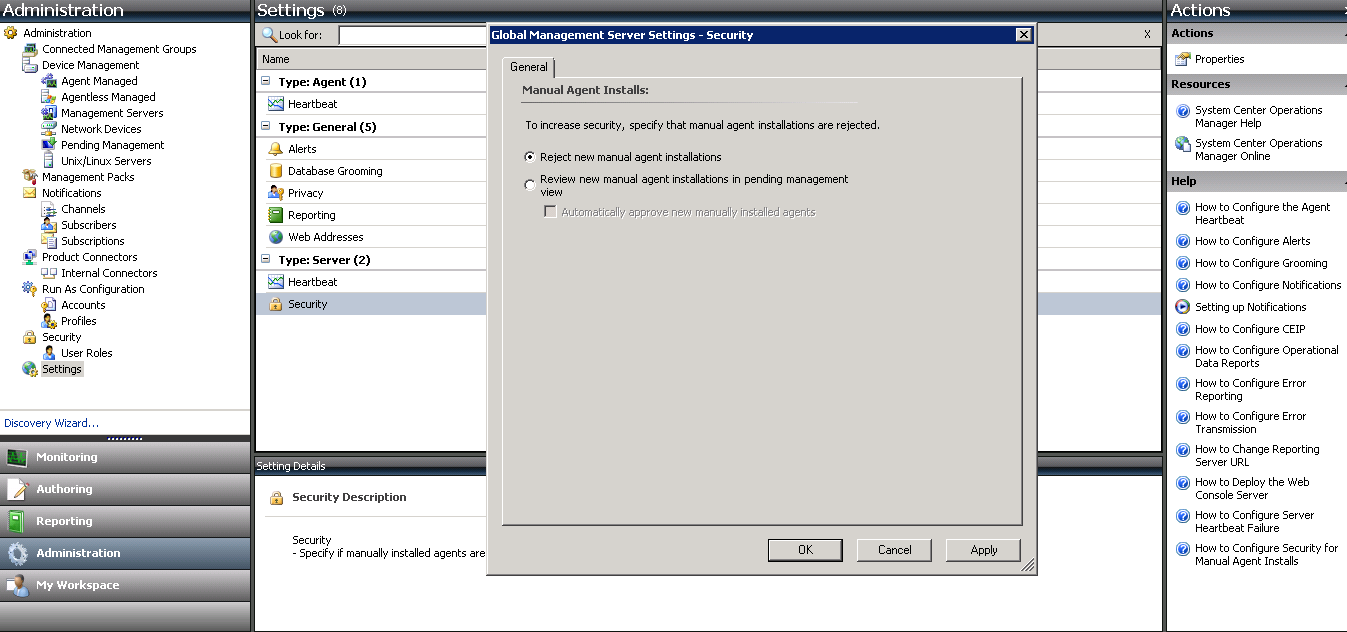 Kevin Greene IT Blog: Using Internal Certificates with SCOM