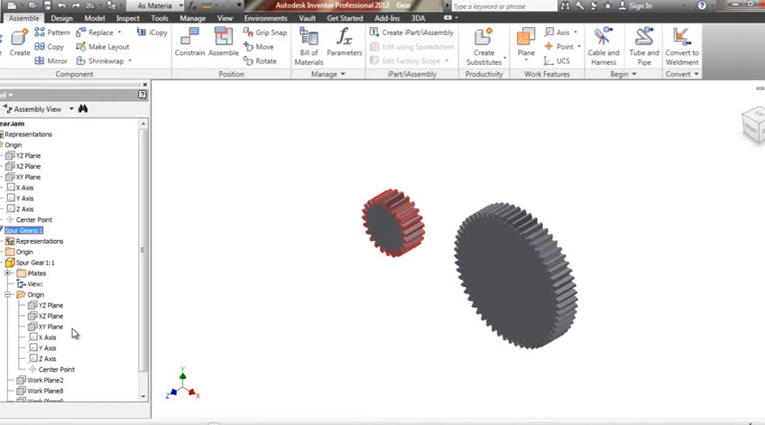 How to create a 3d gear to do animation in scams autodesk inventor an error occurred ccuart Image collections