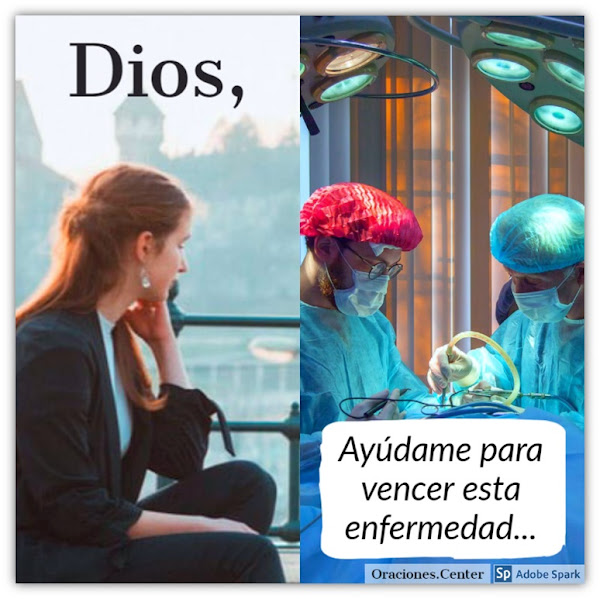 Dios ayudame en la enfermedad