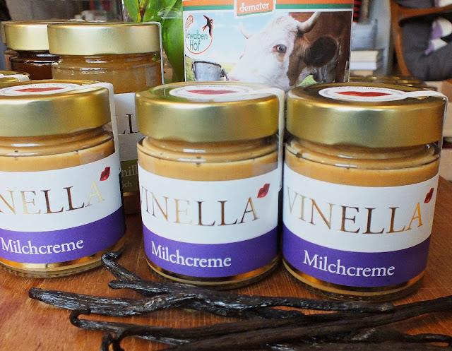Milchcreme der Manufaktur Vinella