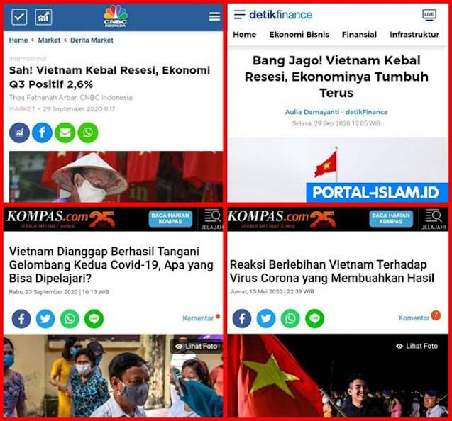 Gara-gara Terlalu Serius Tangani Corona, Vietnam Bebas Resesi, Ekonominya Tumbuh Terus...