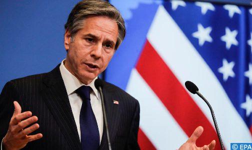 الشرق الأوسط.. بلينكن يؤكد التزام الولايات المتحدة بدعم إعادة إعمار غزة