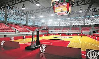Arena multiuso comportará os jogos de basquete da equipe