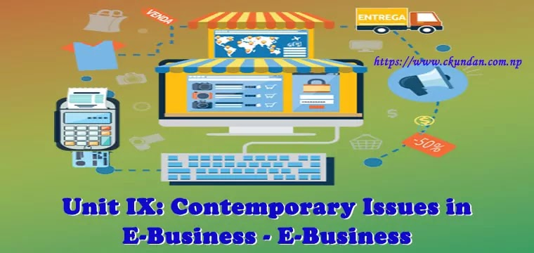 Contemporary Issues in E-Business - E-Business