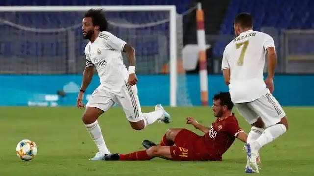 Roma 7-6 Real Madrid: Marcelo Compounds Los Blancos Woes
