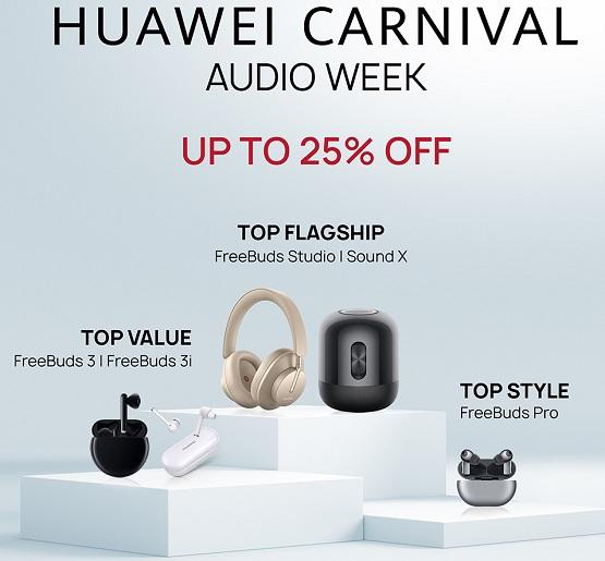 HUAWEI Audio Week Deals and Offers in Saudi Arabia