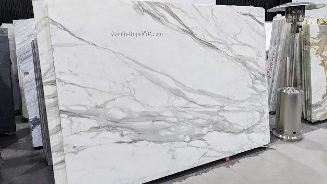 Calacatta Borghini White Marble 2cm NYC