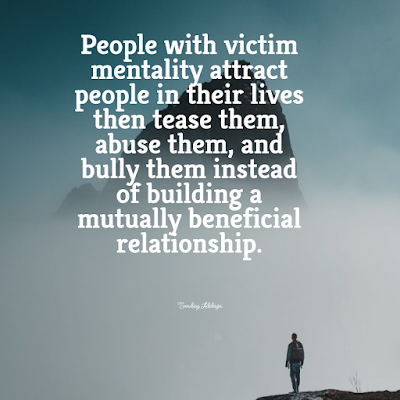 People with victim mentality