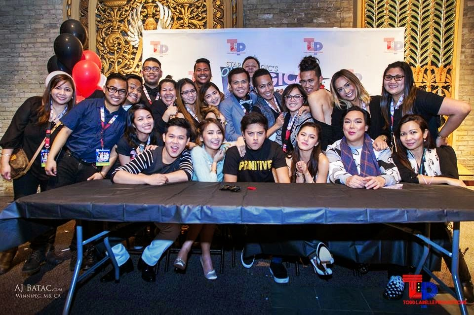 Star Magic's One Magical Night, Live in Winnipeg