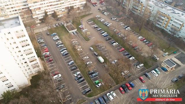 Mai sunt, încă, locuri libere în parcarea de pe Aleea Romancierilor nr. 8. Vezi câte!