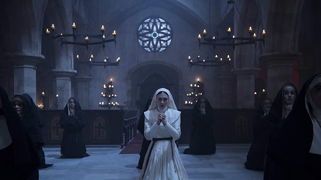 Screenshot Film The Nun (2018). 2