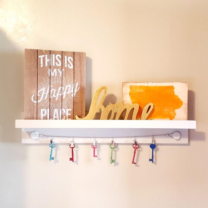 Kitchen Ledge Shelf Decorating Ideas