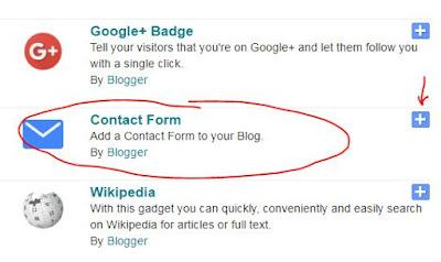 Cara Membuat Halaman Kontak dan Contact Form di Blog