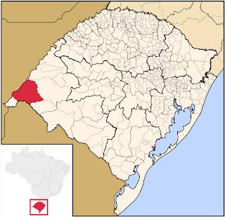Uruguaiana, na Fronteira com a Argentina