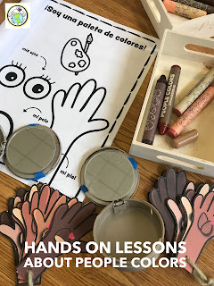 Hands on lessons about race in world language classes