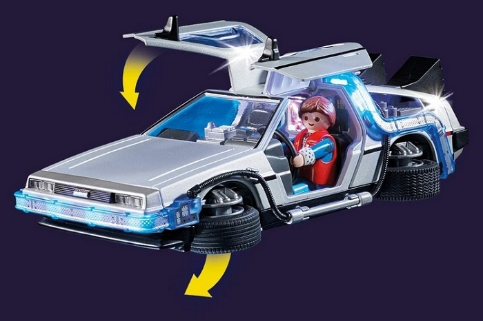 Playmobil Back To The Future DeLorean Playset Hot Toy Figure 2020
