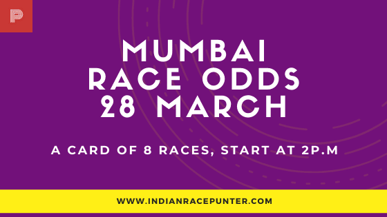 Mumbai Race Odds 28 March