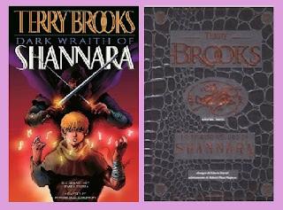 portadas del cómic de fantasía Dark Wraith of Shannara