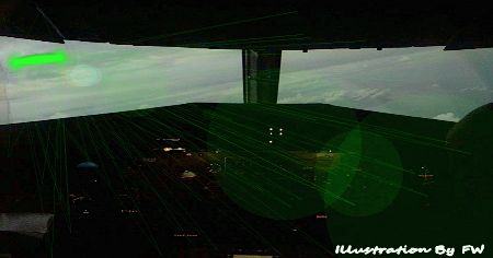 Two Planes Report 'Bright Green UFO'