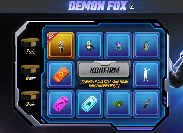 Event Demon Fox Terbaru Free Fire Oktober 2019 Lepaskan Kebuasan