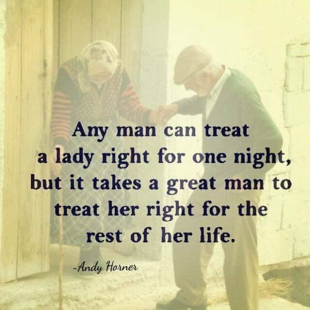 A Man Can Treat A Lady Right for One Night - Quotes Top 10 Updated
