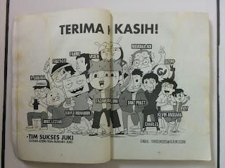 BeraniBeda - Juki untuk Indonesia Satu