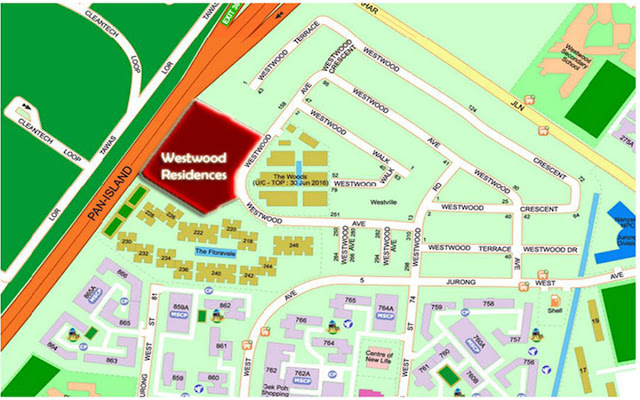 Westwood Residences Location