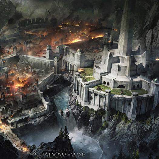 Minas Ithil Under Seige Wallpaper Engine