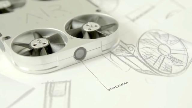 Reveiw Drone Airselfie Dengan Desain Futuristik
