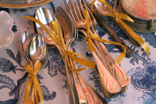 Les couverts, french cutlery