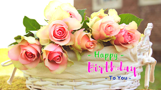 Birthday wishes with latest flower image backgrounds