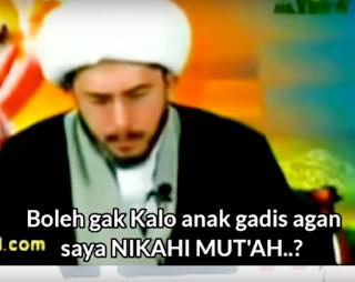Video : Rekaman Transaksi Nikah Mut'ah Di Pucak Bogor