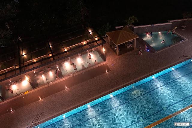【大叔生活】2021 又是六天五夜的環島小筆記 (住宿篇) - 戶外溫泉 SPA 是 F Hotel 知本館的特色
