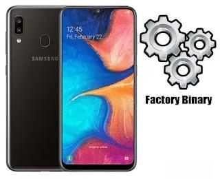 Samsung Galaxy A20 SM-A205W Combination Firmware