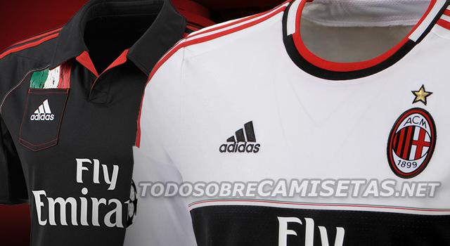 1062229934 Futebol Esporte Clube  Veja o segundo e terceiro uniforme do Milan ...