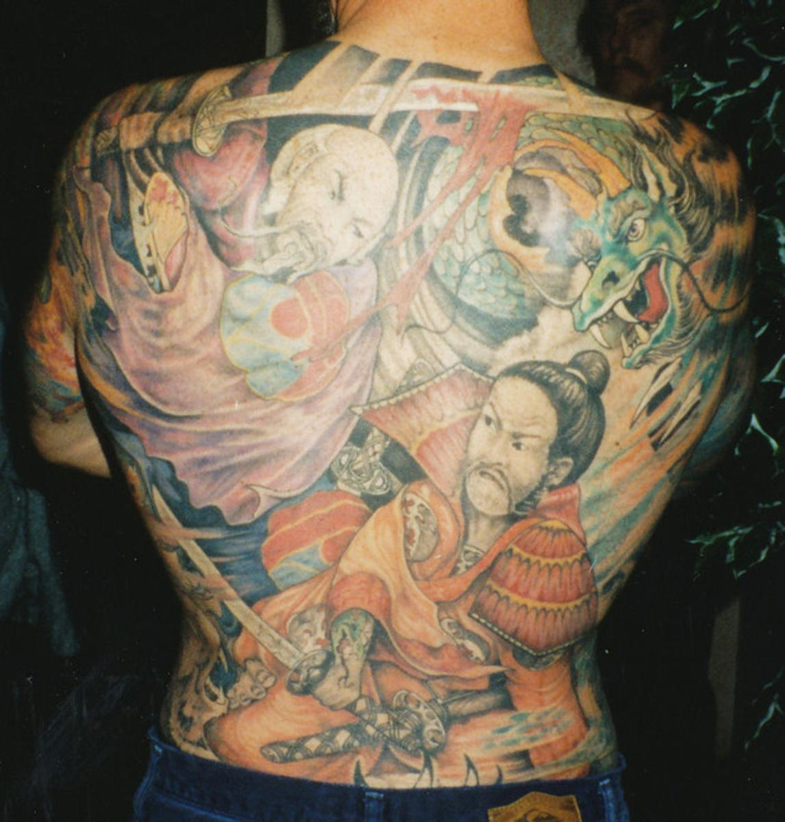 anese tattoo designs for men