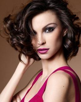 Maquiagem Preto + Pink
