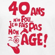 Texte joyeux anniversaire 40 ans