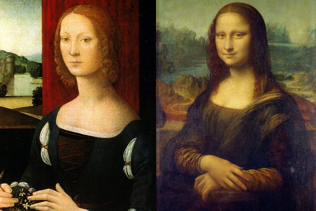 Caterina Sforza dan monalisa