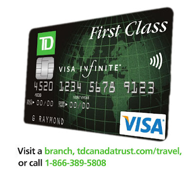 Visa Infinite First Class Travel Insurance