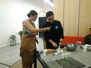 Demo Masak Membuat Tiramisu oleh Chef Odie Djamil