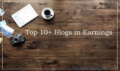 Top 10+ Blogs in Earnings