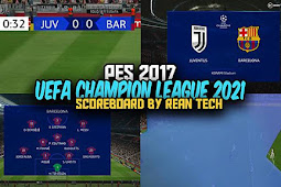 UEFA Champion League Scoreboard 2021 - PES 2017